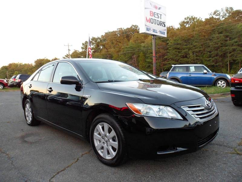 2008 toyota camry hybrid base 4dr sedan in fredericksburg va best motors inc. Black Bedroom Furniture Sets. Home Design Ideas