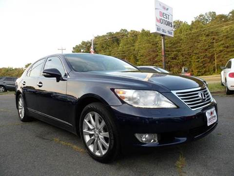 2010 lexus ls 460 for sale nashville tn. Black Bedroom Furniture Sets. Home Design Ideas