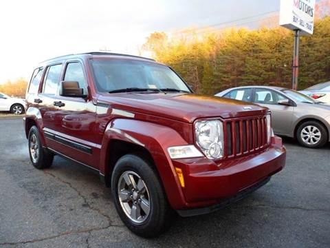 2008 Jeep Liberty for sale in Fredericksburg, VA