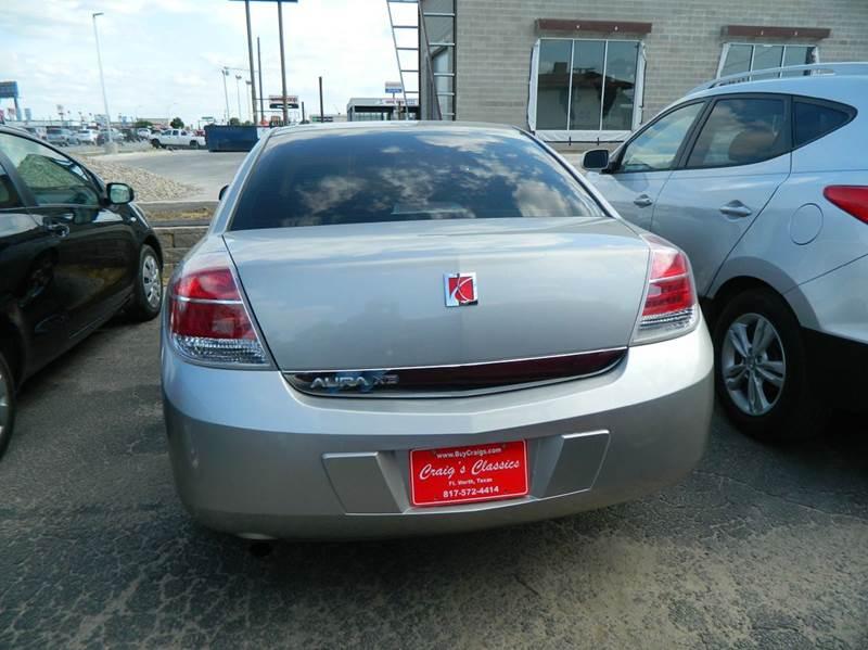 2007 Saturn Aura XE 4dr Sedan - Fort Worth TX