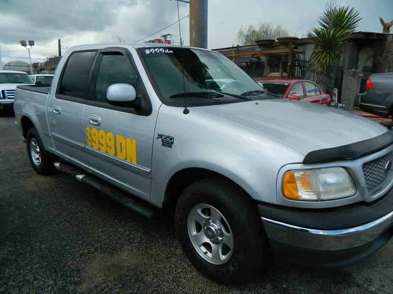 2001 Ford F-150 4dr SuperCrew XLT 2WD Styleside SB - Fort Worth TX