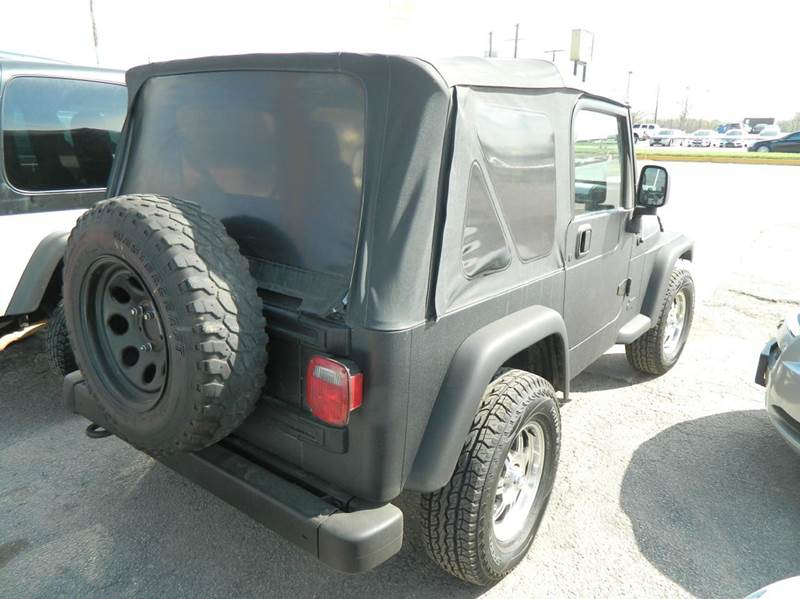 2004 Jeep Wrangler Sport 4WD 2dr SUV - Fort Worth TX