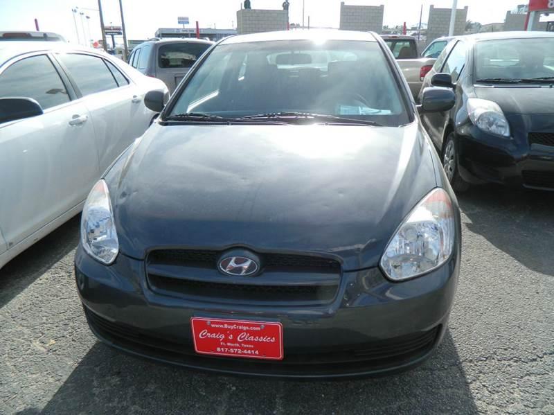 2010 Hyundai Accent GS 2dr Hatchback - Fort Worth TX