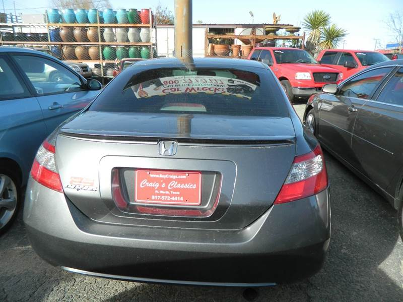 2010 Honda Civic EX 2dr Coupe 5A - Fort Worth TX