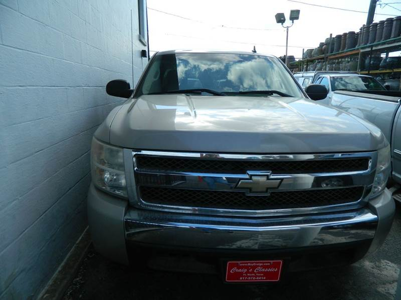 2007 Chevrolet Silverado 1500 LT1 4dr Extended Cab 5.8 ft. SB - Fort Worth TX