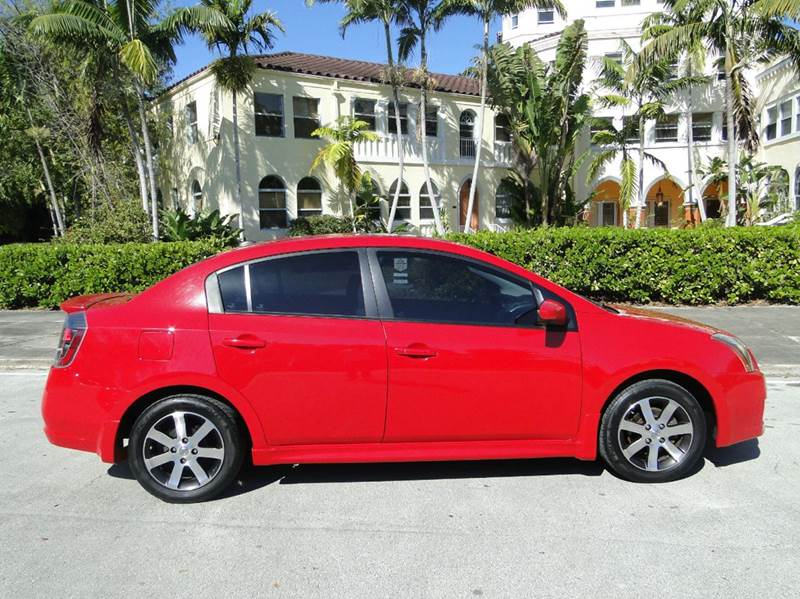 2012 nissan sentra 2 0 sr 4dr sedan in miami fl auto tempt leasing inc. Black Bedroom Furniture Sets. Home Design Ideas