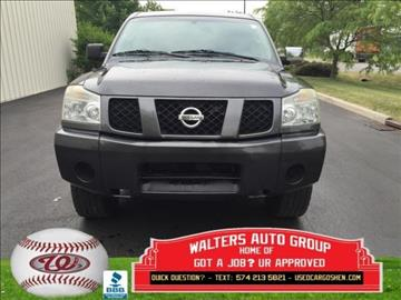 Nissan titan for sale indiana for Premier motors elkhart in