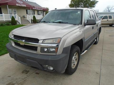 2005 chevrolet avalanche for sale in indiana. Black Bedroom Furniture Sets. Home Design Ideas
