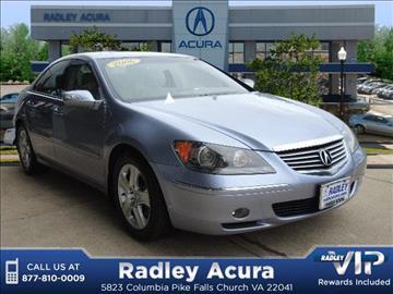 2006 Acura Rl For Sale Minnesota Carsforsale Com
