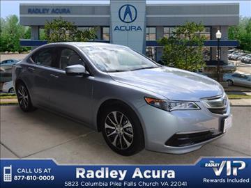 2016 Acura TLX for sale in Falls Church, VA