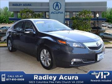 2012 Acura TL for sale in Falls Church, VA