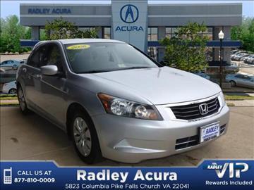 2008 Honda Accord for sale in Falls Church, VA
