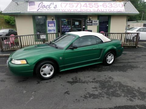 1999 Ford Mustang for sale in Norfolk, VA