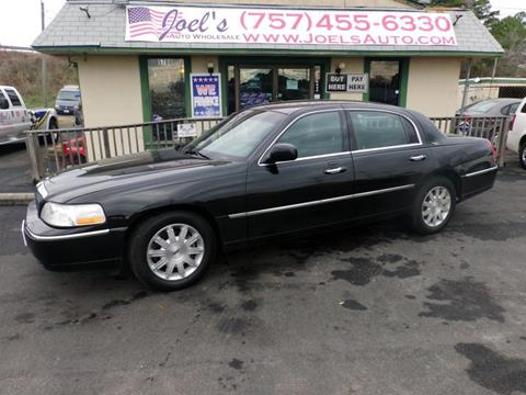 2011 lincoln town car for sale in norfolk va