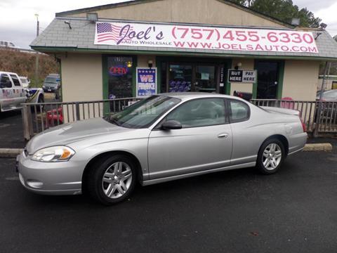 2007 Chevrolet Monte Carlo for sale in Norfolk, VA
