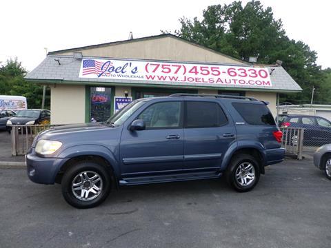2006 Toyota Sequoia for sale in Norfolk VA