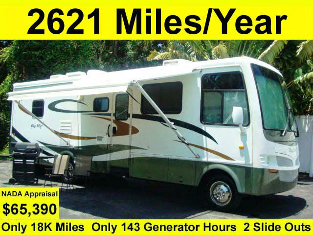 2007 Newmar Baystar 32 ft Slide Outs