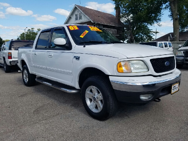 2003 ford f 150 4dr supercrew lariat 4wd styleside sb in