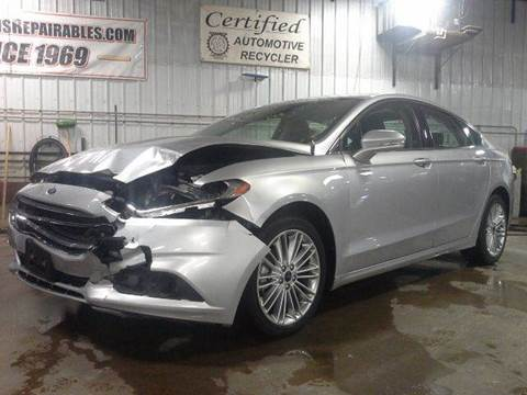 2015 Ford Fusion for sale in Garretson, SD