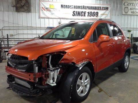 2015 Chevrolet Trax for sale in Garretson, SD