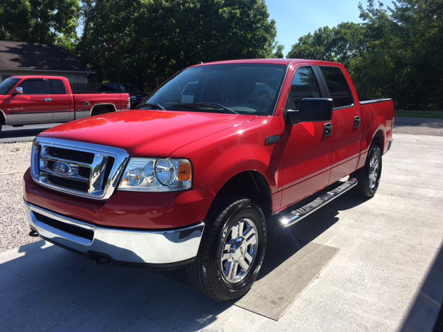 2008 Ford F-150 4x4 XLT 4dr SuperCrew Styleside 5.5 ft. SB - Cannelton IN