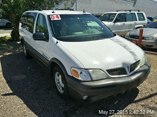 Used Cars in Las Vegas 2004 Pontiac Montana