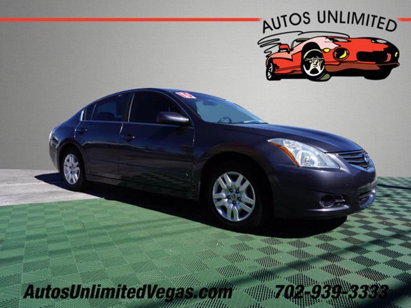 2010 Nissan Altima 2.5 4dr Sedan   Las Vegas NV