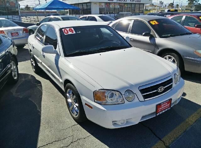 Used Cars in Las Vegas 2004 Kia Optima
