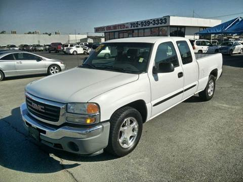 2005 GMC Sierra 1500 for sale in Las Vegas, NV