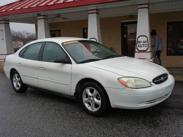 used 2000 ford taurus lx in sumter sc at payday auto sales. Black Bedroom Furniture Sets. Home Design Ideas