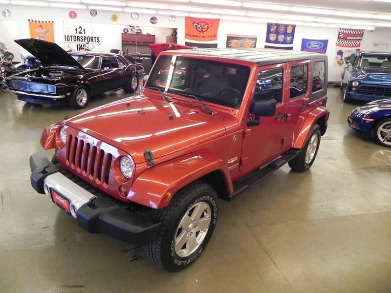 2009 Jeep Wrangler Unlimited Sahara 4x4 4dr SUV w/ Front Side Airbags - Mt. Zion IL