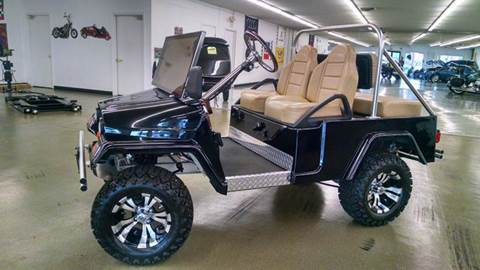 2013 Club Car Custom Jeep