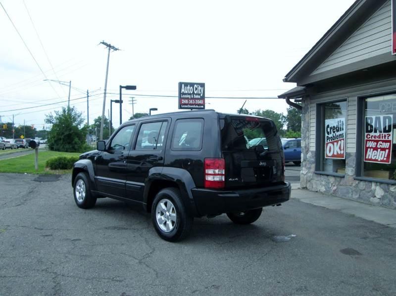 2012 Jeep Liberty Sport 4x4 4dr SUV - Waterford MI