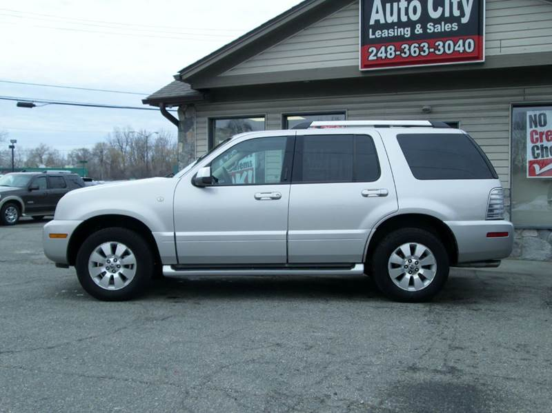 2006 Mercury Mountaineer Premier AWD 4dr Crossover - Waterford MI