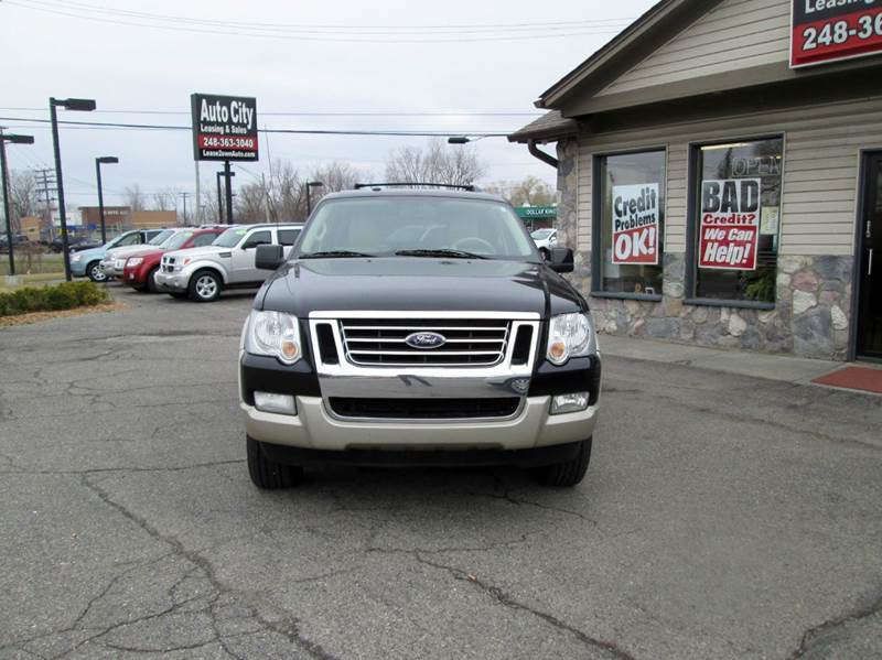 2009 Ford Explorer 4x4 Eddie Bauer 4dr SUV (V6) - Waterford MI