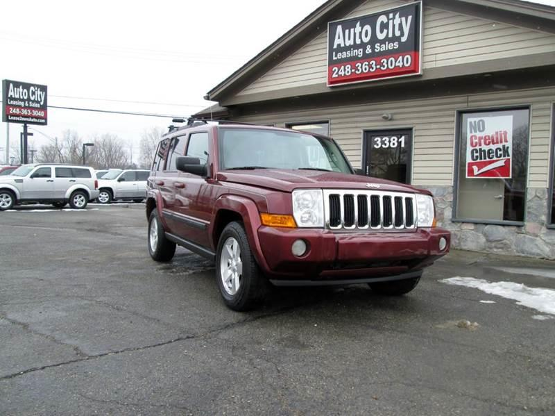 2007 jeep commander sport 4dr suv 4wd in waterford mi for A b motors waterford mi