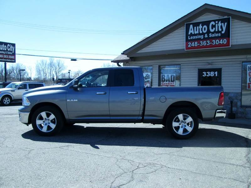 2010 Dodge Ram Pickup 1500 4x4 SLT 4dr Quad Cab 6.3 ft. SB Pickup - Waterford MI