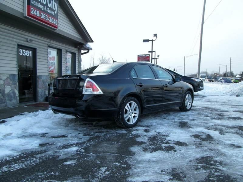 2009 Ford Fusion V6 SEL 4dr Sedan - Waterford MI