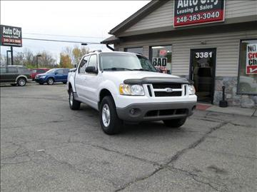 2003 Ford Explorer Sport Trac for sale in Waterford, MI