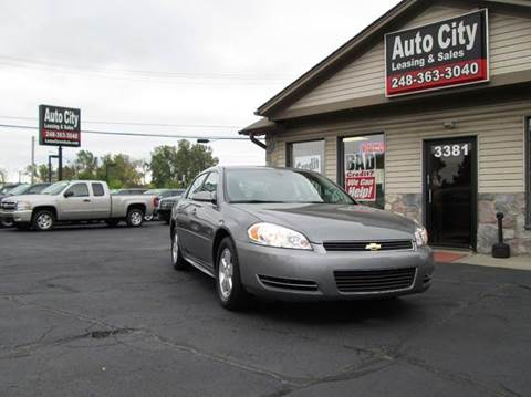 2009 Chevrolet Impala for sale in Waterford, MI