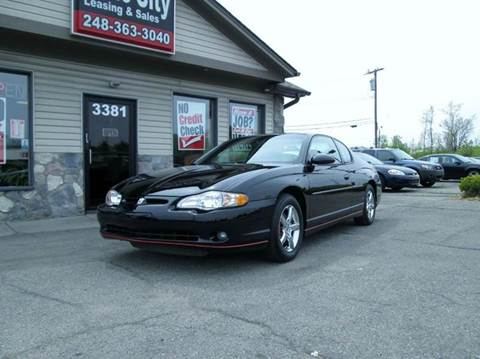 2001 Chevrolet Monte Carlo for sale in Waterford, MI
