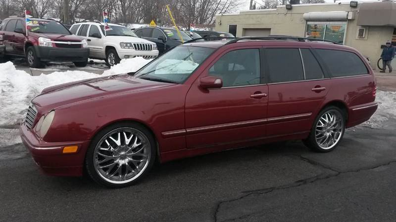 2001 mercedes benz e class e320 4dr wagon in roseville mi