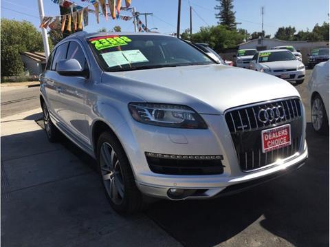 2012 Audi Q7 for sale in Farmersville, CA