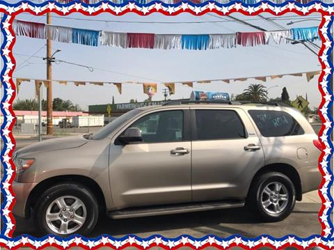 2008 Toyota Sequoia for sale in Farmersville, CA