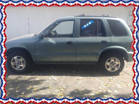 2000 Kia Sportage for sale in Farmersville, CA