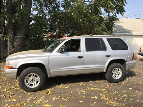 2003 Dodge Durango for sale in Farmersville, CA