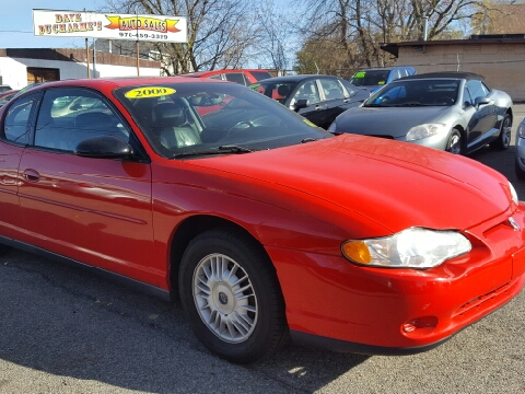 2000 Chevrolet Monte Carlo for sale in Lowell, MA