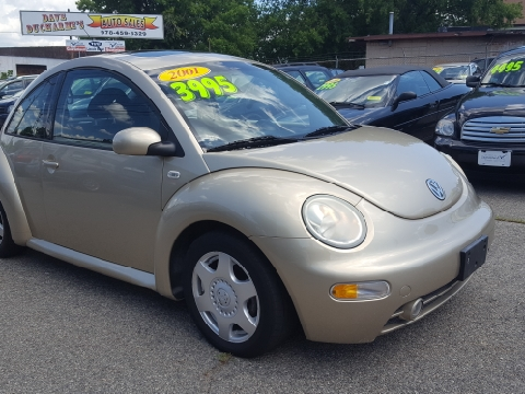 2001 Volkswagen New Beetle for sale in Lowell, MA