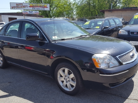 2007 Ford Five Hundred for sale in Lowell, MA