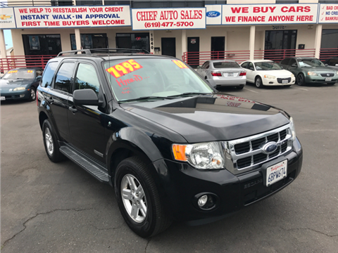 2008 Ford Escape Hybrid for sale in National City, CA